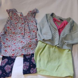 Gap for baby girl 2 set,size 2 years(18 -24months)